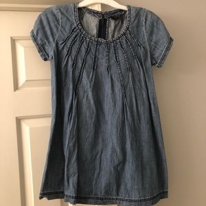 Topshop Denim Tunic